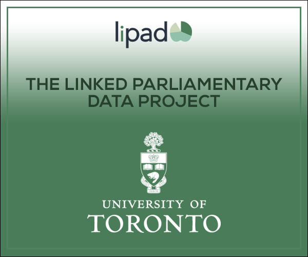 Lipad - The Linked Parliamentary Data Project - University of Toronto