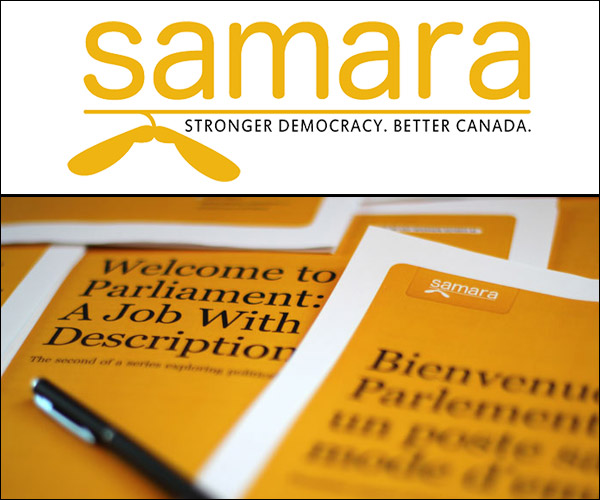 Samara - Stronger democracy, better Canada
